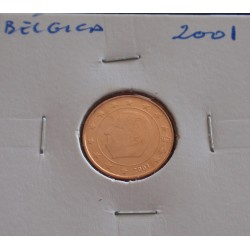 Bélgica - 1 Centimo - 2001