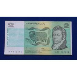 Austrália - 2 Dollars - 1985