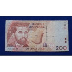 Albânia - 200 Leke - 2007
