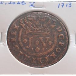 D. João V - X Réis - 1713 -...