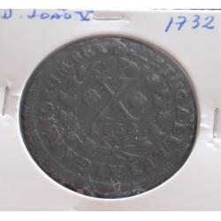 D. João V - X Réis - 1732 -...