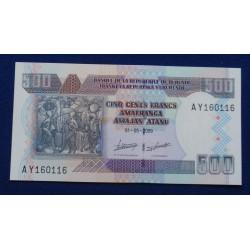 Burundi - 500 Francs - 2009...