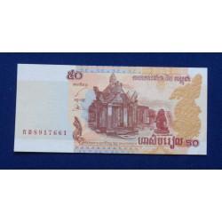 Camboja - 50 Riels - 2002 -...