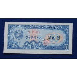 Coreia do Norte - 50 Won -...