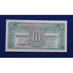 Checoslováquia - 10 Korun -...