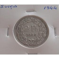 Suiça - 2 Francs - 1944 -...