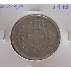 Suiça - 5 Francs - 1973