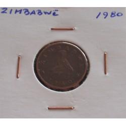 Zimbabwe - 1 Cent - 1980