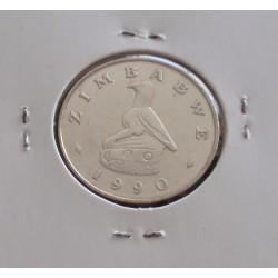 Zimbabwe - 50 Cents - 1990
