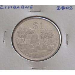 Zimbabwe - 1 Dollar - 2002