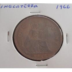 Inglaterra - 1 Penny - 1966