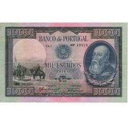 Portugal - Nota - 1000 Escudos - 29/9/1942 - Ch.7 - D. Afonso Henriques