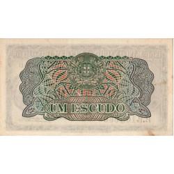 Moçambique, BNU, 1 Escudo, 23/5/1944, António Eanes