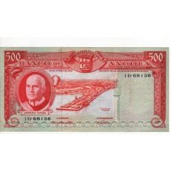 Angola, PT, 500 Escudos, 10/6/1962, Amério Tomás